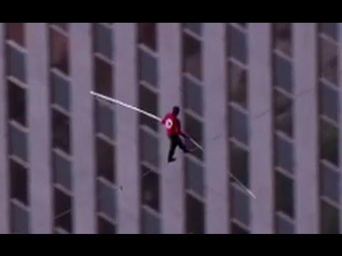 Nik Wallenda Chicago tightrope walk