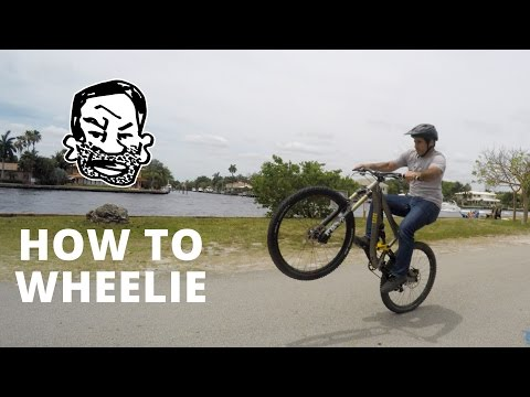 Mountain Bike Wheelie – Learn How to Do It