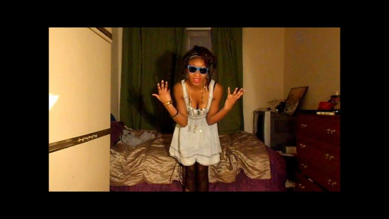 RIHANNA WE FOUND LOVE - INSPIRED HAIR TUTORIAL AND OUTFIT ...