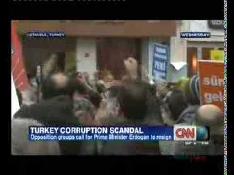 Anti-corruption protests continue in Turkey