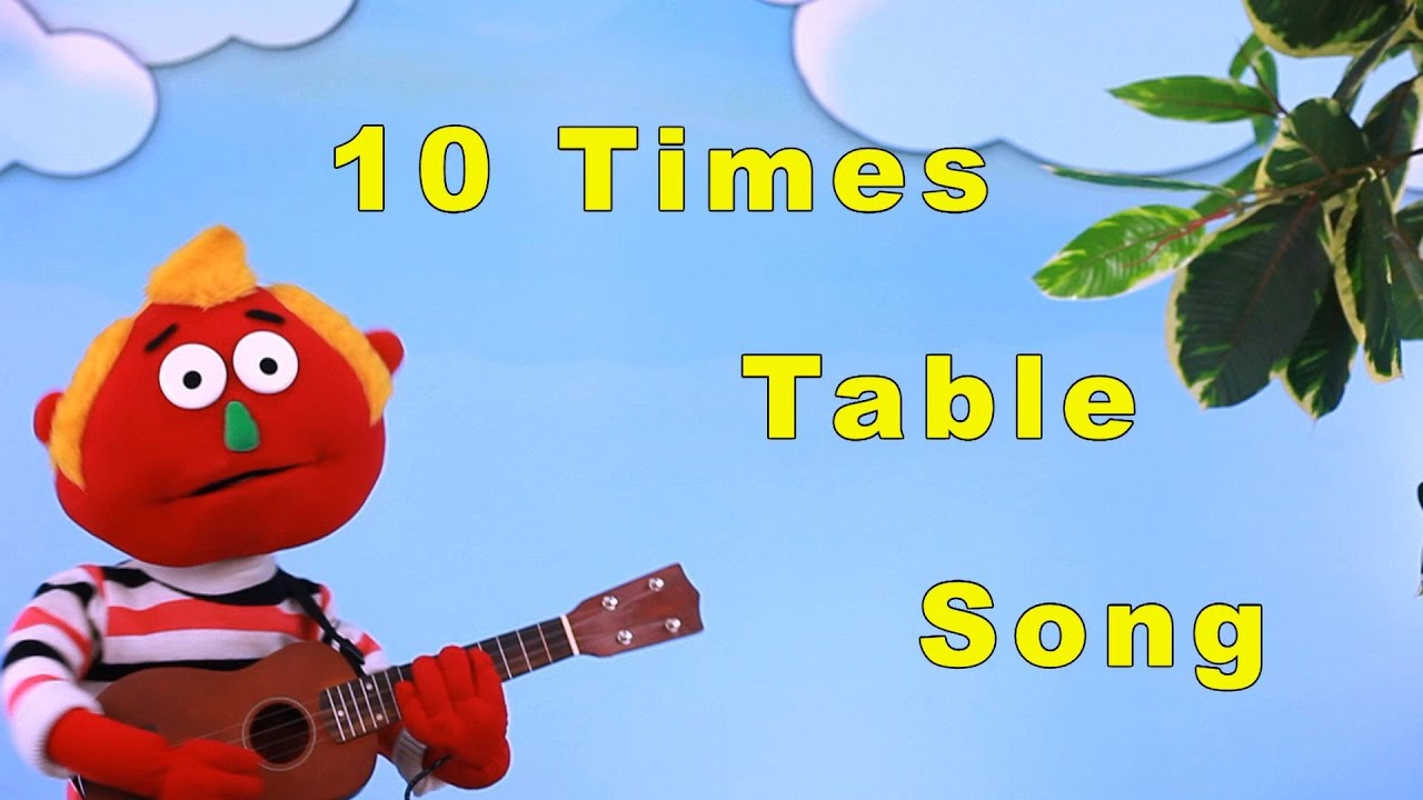 10 times table song youtube