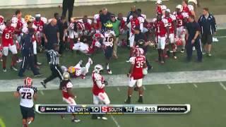 |2013|Senior Bowl Highlights|North Vs South|
