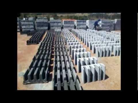 maquina para fabricar bloco de concreto usimak