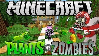 MINECRAFT: PLANTS VS ZOMBIES MOD 1.6.4 ESPAÑOL PLANTAS