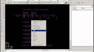TurkCizim CAD - Kolon hattı yükleme gerilim düşümü