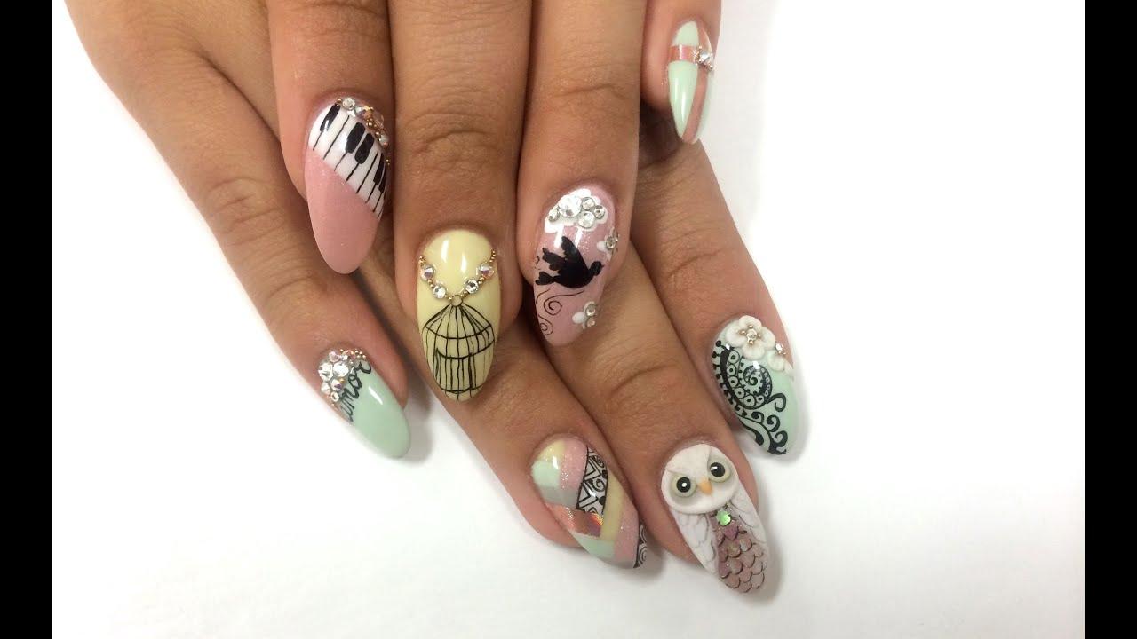 Best Nail Art Artist: Mariage ongles designs best nail art ideas ...