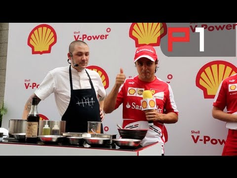 Vettel fastest & Massa cooks up a storm in Singapore with Ferrari
