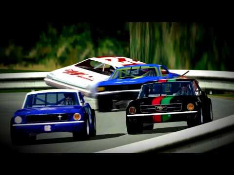 NASCAR Racing 2003 Season Crashes 13-Misery Business HD 60 FPS