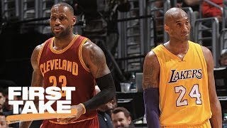 Mamba Or The King: Who's Better?   First Take   May 23, 2017
