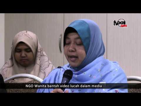 NGO Wanita bantah video lucah dalam media