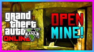 "GTA 5 Xbox One ""Mystery Cave"" Mineshaft OPEN! Murder"