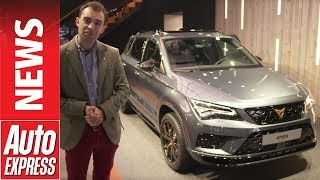 Cupra Ateca SUV revealed in Geneva with 296bhp - IT'S NOT A SEAT!. Auto Express.