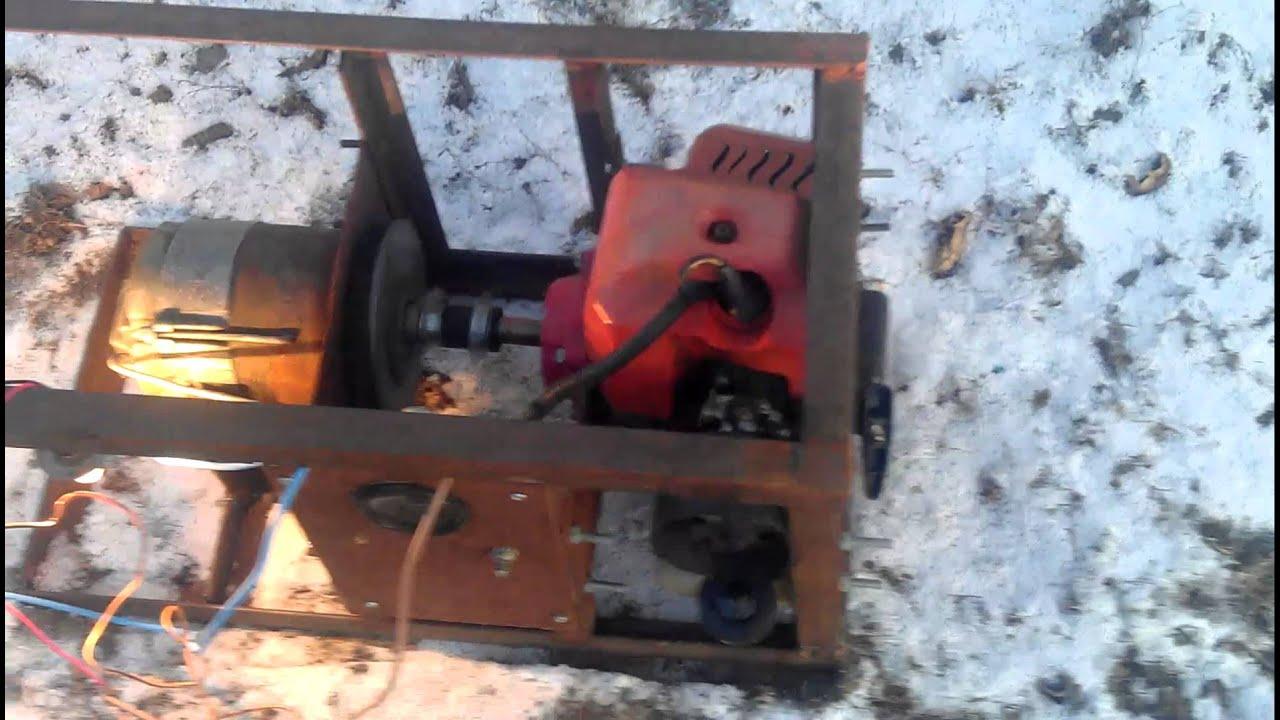 Как самому сделать генератор 220 вольт