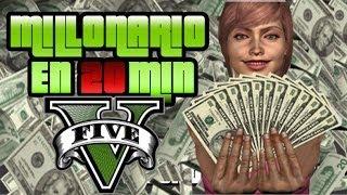 GTA V Online Como Conseguir Dinero 2.000.000 $ Millones