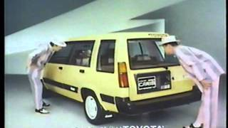 1982 TOYOTA SPRINTER CARIB Ad