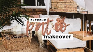 My Extreme Patio / Porch Makeover!