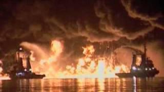 Destroyed In Seconds- Oil Tanker Explosion .flv