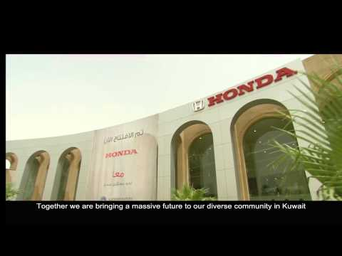 Alghanim Motors: Sole distributor for Honda in Kuwait