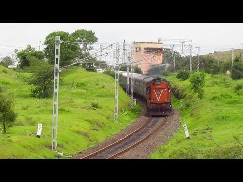 One of the Best train chase ever caught on Camera : Indian Railways