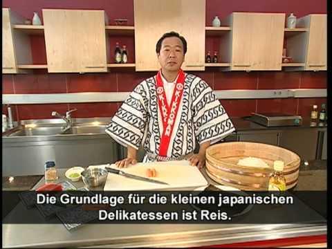 Sushi selber machen - Der Sushi-Meister zeigt wie's geht, Erfahre mehr über die Zubereitung von Sushi. Der japanische Sushi-Meister Kiyoshi Hayamizu und Kikkoman zeigt dir step-by-step, wie Du Maki Sushi ganz leicht...