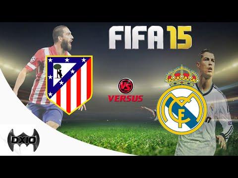 ATLETICO DE MADRID REAL MADRID LIGA BBVA SIMULACION FIFA 15 PS4