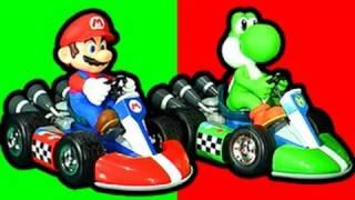 Mario Kart Vs Yoshi RC Wii Crash Action & Fail