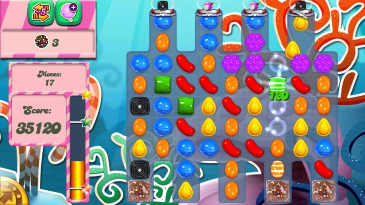 Candy Crush Saga Level 317 No Boosters - YouTube