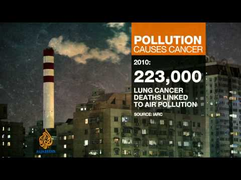 WHO: Air pollution leading cause of cancer