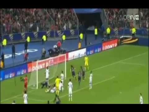 Paris Saint Germain 2-1 Lyon All Goals & Highlights 19-04-2014
