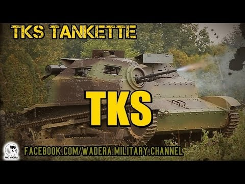 TKS Tankietka (Tankette) Polish light tank 1934-1936 HQ