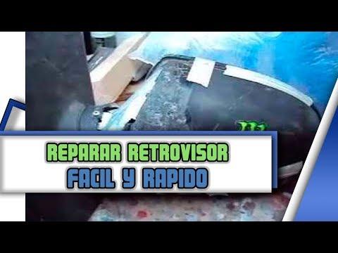 Como reparar retrovisor de un auto, [Ford fiesta] avances [mirror]