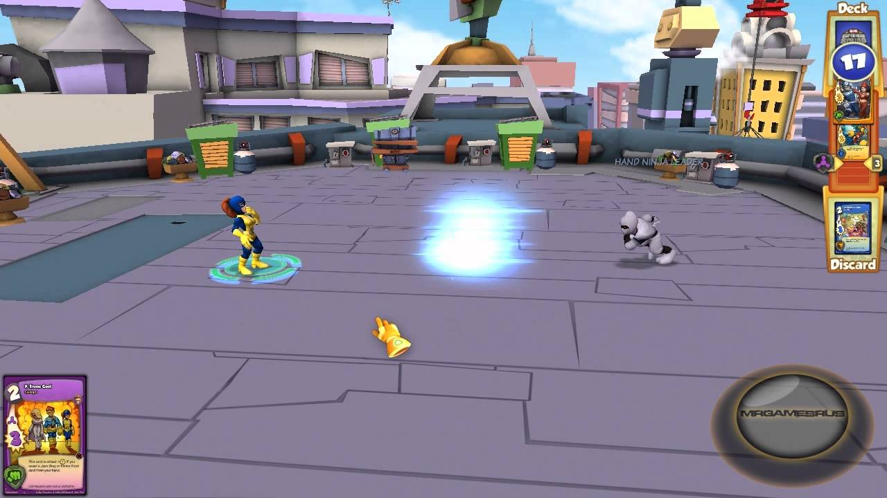 the first details of the gameplay of Marvel Super Hero Squad Online