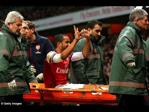 Theo Walcott trolling the Spurs Fans!
