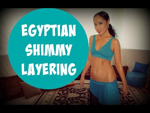 Egyptian shimmies: how to layer Egyptian shimmies - part 1