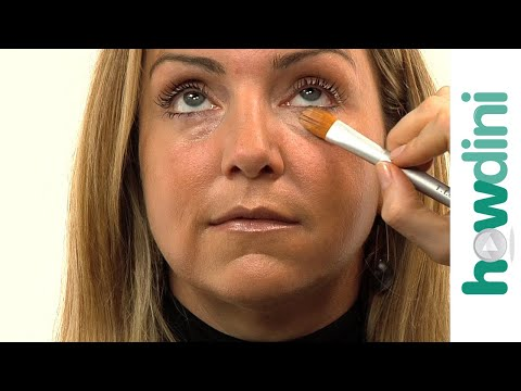 How to conceal dark circles under eyes - YouTube - photo#13
