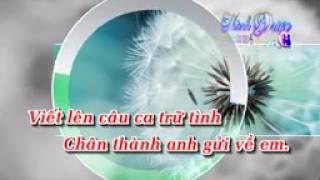 Karaoke  Biết Nói Gì Đây   Ngọc Sơn By Thành Được Viet Karaoke