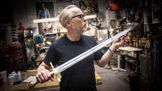 Adam Savage's One Day Builds: Excalibur Sword!