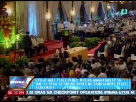 GPH at MILF peace panel, muling maghaharap sa Jan. 22 para sa huling annex ng Bangsamoro