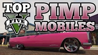 GTA V Top 5 Custom Cars : Pimp Mobiles (Peyote, Manana