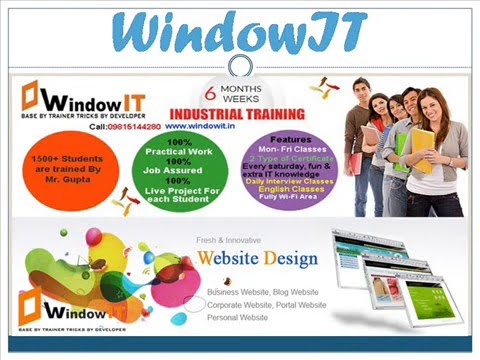 Windowit Six Months Industrial Training in Chandigarh - PHP, Web Design, Software Testing and Wordpress's Videos