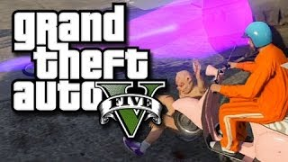 GTA 5 – Fun with Jets! (GTA 5 Invisible Jet Glitches, Breakdancing, and Funny Moments)