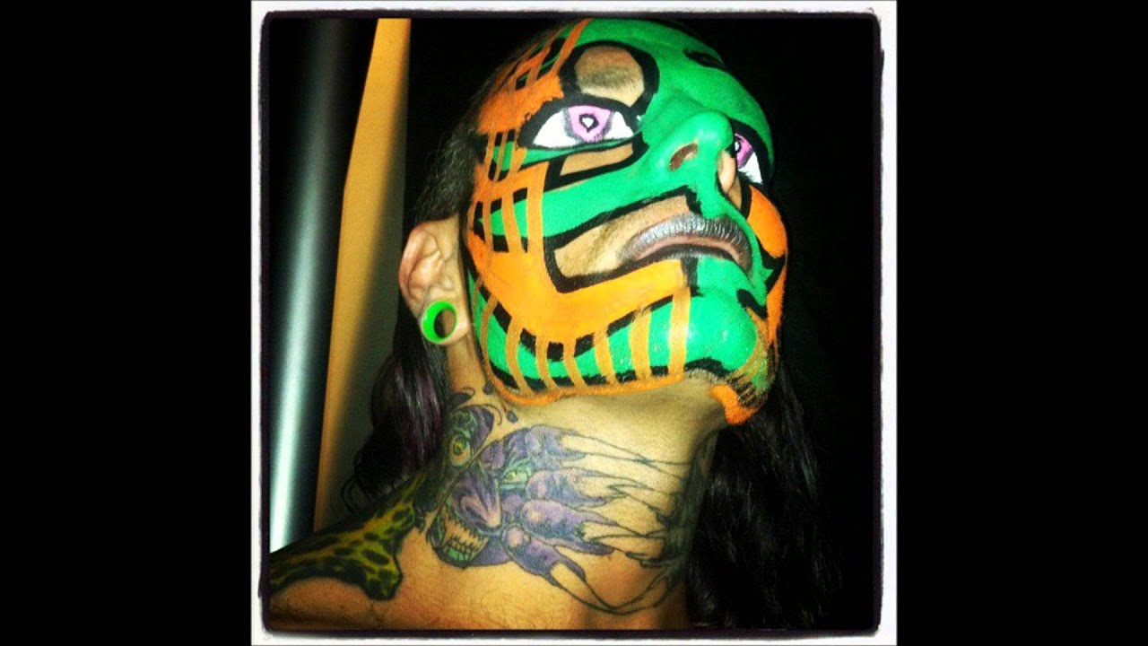Displaying 20 gt  Images For - Wwe Jeff Hardy Face Paint   Jeff Hardy Face Paint Red