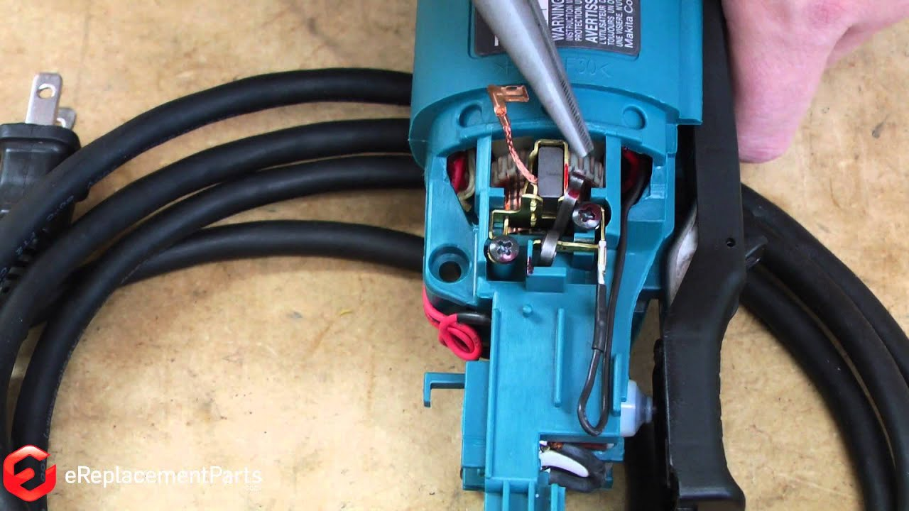 How To Replace The Brushes On A Makita Grinder--a Quick Fix