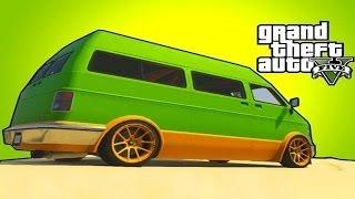 GTA 5 Online Carros Raros/secretos #7 Bravado Youga/Van De