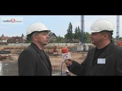 Suwałki: budowa galerii handlowej Plaza