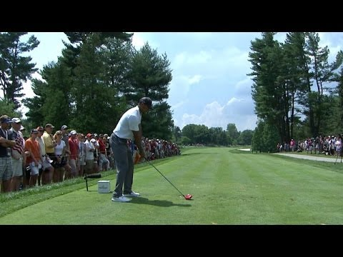 Tiger Woods Swing Analysis at Quicken Loans