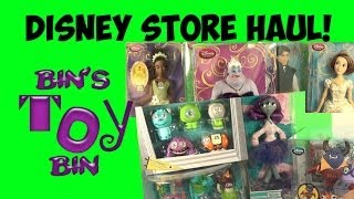 Disney Store Haul (Feb. 2014)! Princesses, Monsters And