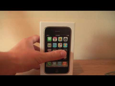 White iPhone 3GS 16GB - Unboxing