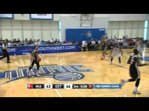 Miami Heat vs Detroit Pistons | July 8, 2014 | NBA Summer League 2014