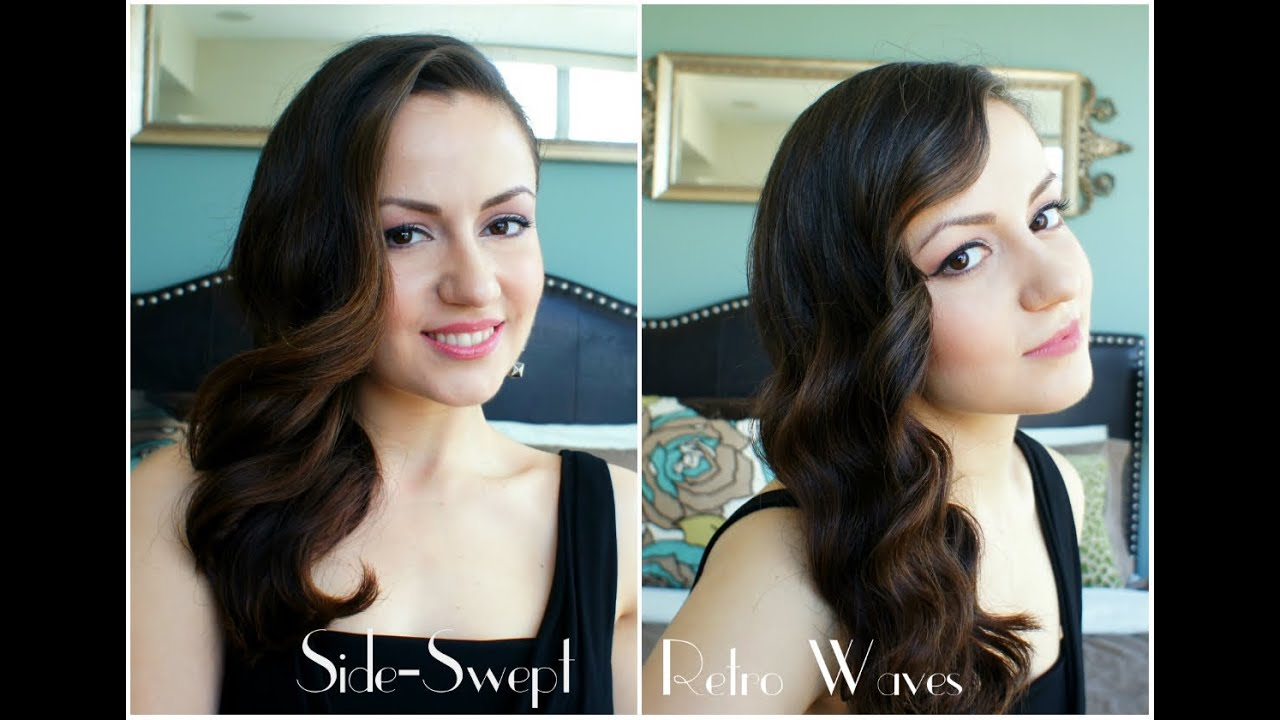 vintage hairstyles for long hair for prom